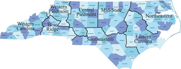 NC Safety Regions