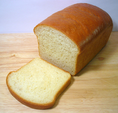 White Bread Loaf White Bread Loaf